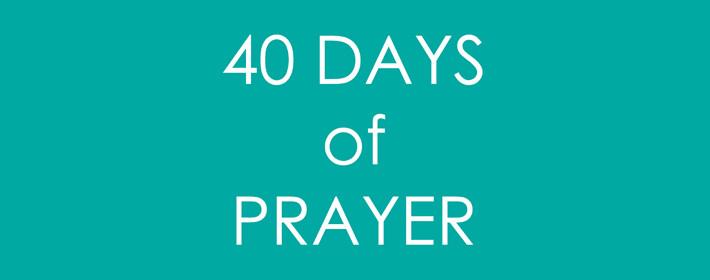 40 Days  Web Banner
